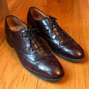 Johnson & Murphy Wingtip Oxfords